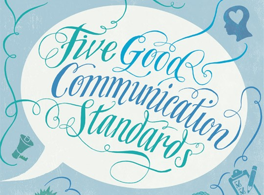 Patrick Knowles Five Good Communication Standards