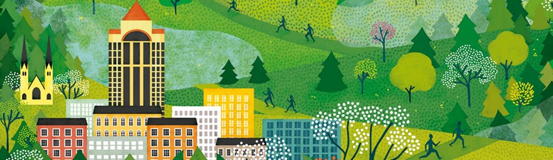Natalia Zaratiegui Blue Ridge Marathon Poster News Feature Image