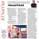Ben Scruton Hunter Davies Sunday Times News Item