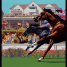 Garry Walton Jockey Club artwork