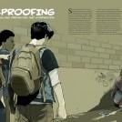 Gavin Reece Bullying Editorial page spread news item