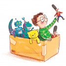 Hannah George Cardboard Box fun News Item