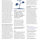 Sarah Dennis Psychologies Magazine News Item Layout